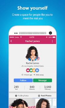 Moovz- The LGBT Social Network APK screenshot thumbnail 5