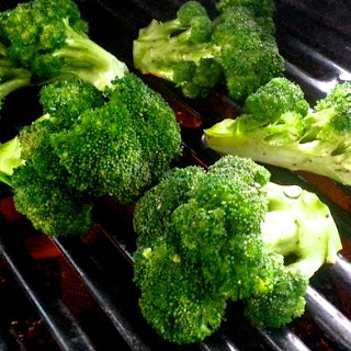 Spicy Grilled Broccoli With Lime