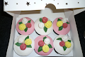 Small Rose Topper Cupcakes