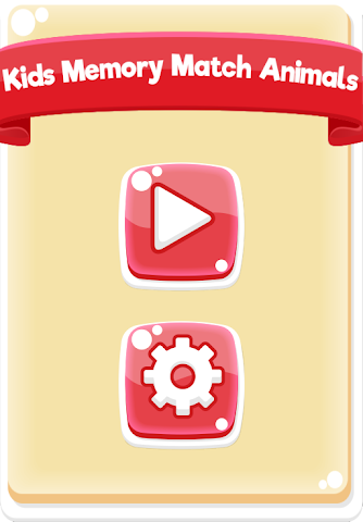 android Kids Memory Match Animals Free Screenshot 0