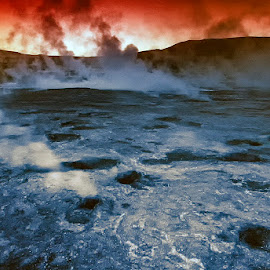El Tatio by Stanley P. - Landscapes Caves & Formations