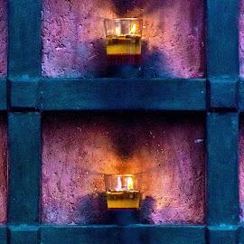 candles on the wall by Hariharan Venkatakrishnan - Artistic Objects Still Life