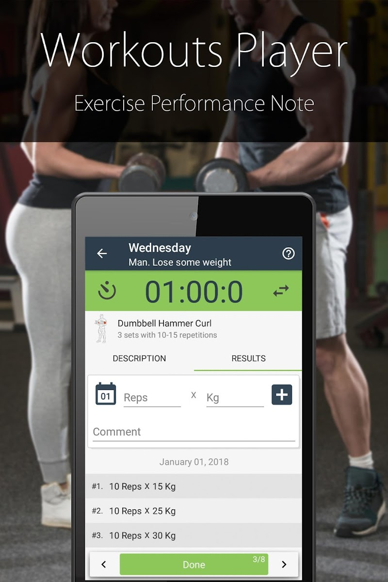Fitness Trainer FitProSport FULL Screenshot 4