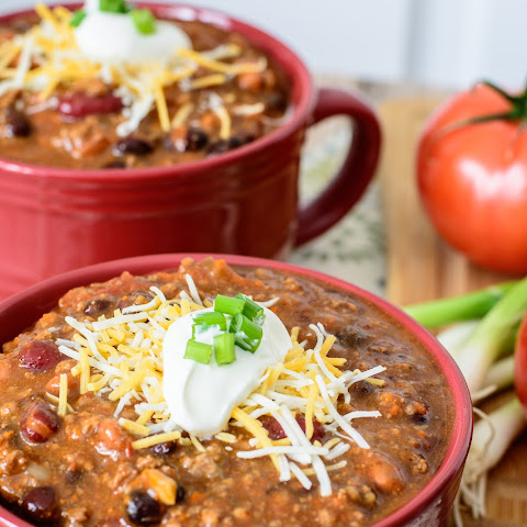 Super Quick 30 Minute Chili Recipe {Gluten Free, Clean Eating}Homemade Chili Seasoning