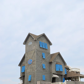 by Teresa Wooles - Buildings & Architecture Public & Historical ( outer banks, house )
