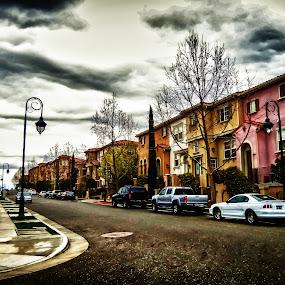 Communication Hill by Rachel Santellano - City,  Street & Park  Street Scenes ( hdri, hdr )