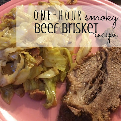 One-Hour Smoky Beef Brisket