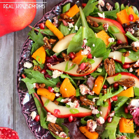 Harvest Salad with Butternut Squash