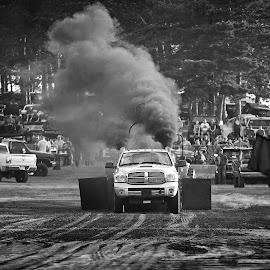 Truck pulls at the Grange Fair by Tony Bendele - Transportation Automobiles ( trucks, truck pulls, truck )