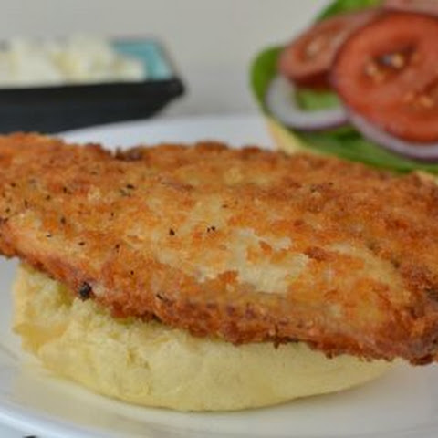 Easy Fried Fish Sandwich
