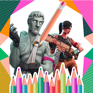 Draw and coloring book for fortnite For PC / Windows 7/8/10 / Mac – Free Download