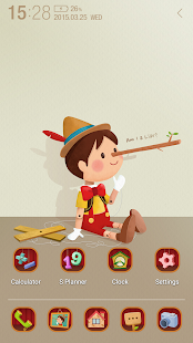 Pinocchio Atom Theme - screenshot