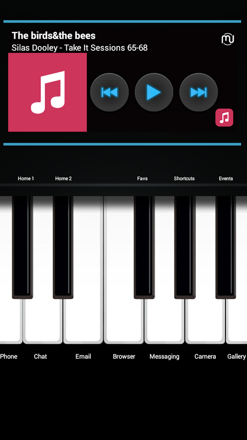 Electone Theme Total Launcher Screenshot 3