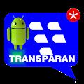 Download BBM Transparan APK on PC