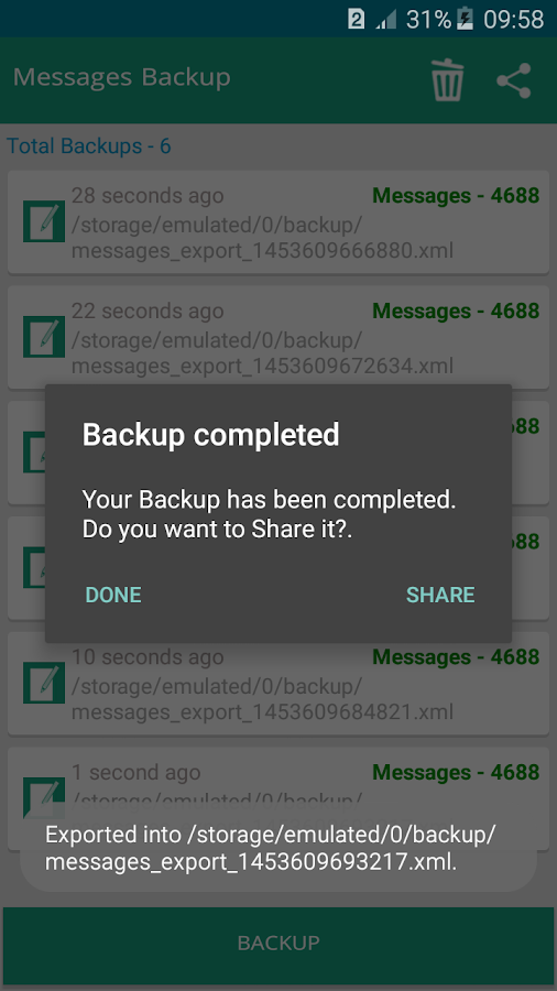 Super Backup PRO (All-In-One) Screenshot 6