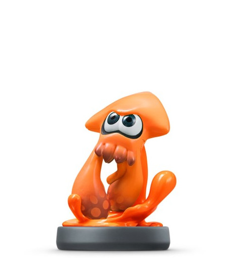 Inkling Squid - Orange figure - Splatoon series