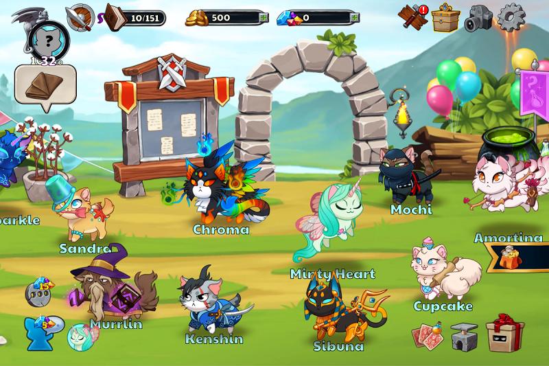 Castle Cats:  Idle Hero RPG Screenshot 11