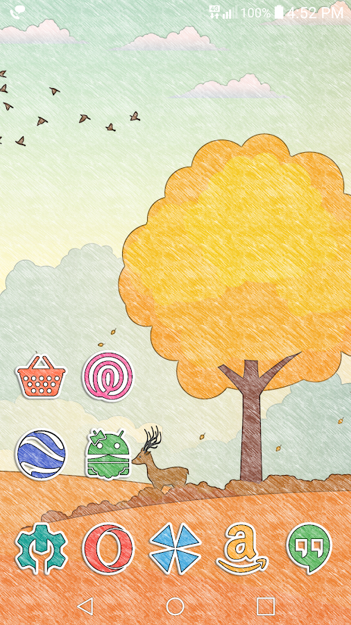 Doodle Stickers Icon Pack Screenshot 4