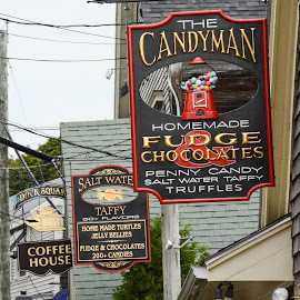 Signage by Robert Coffey - Artistic Objects Signs ( signs, maine, kennebunkport, advertising, businesses )