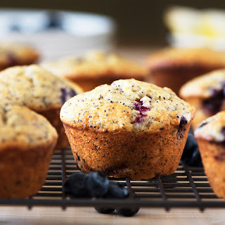 Blueberry Poppy Seed Muffin Recipes
