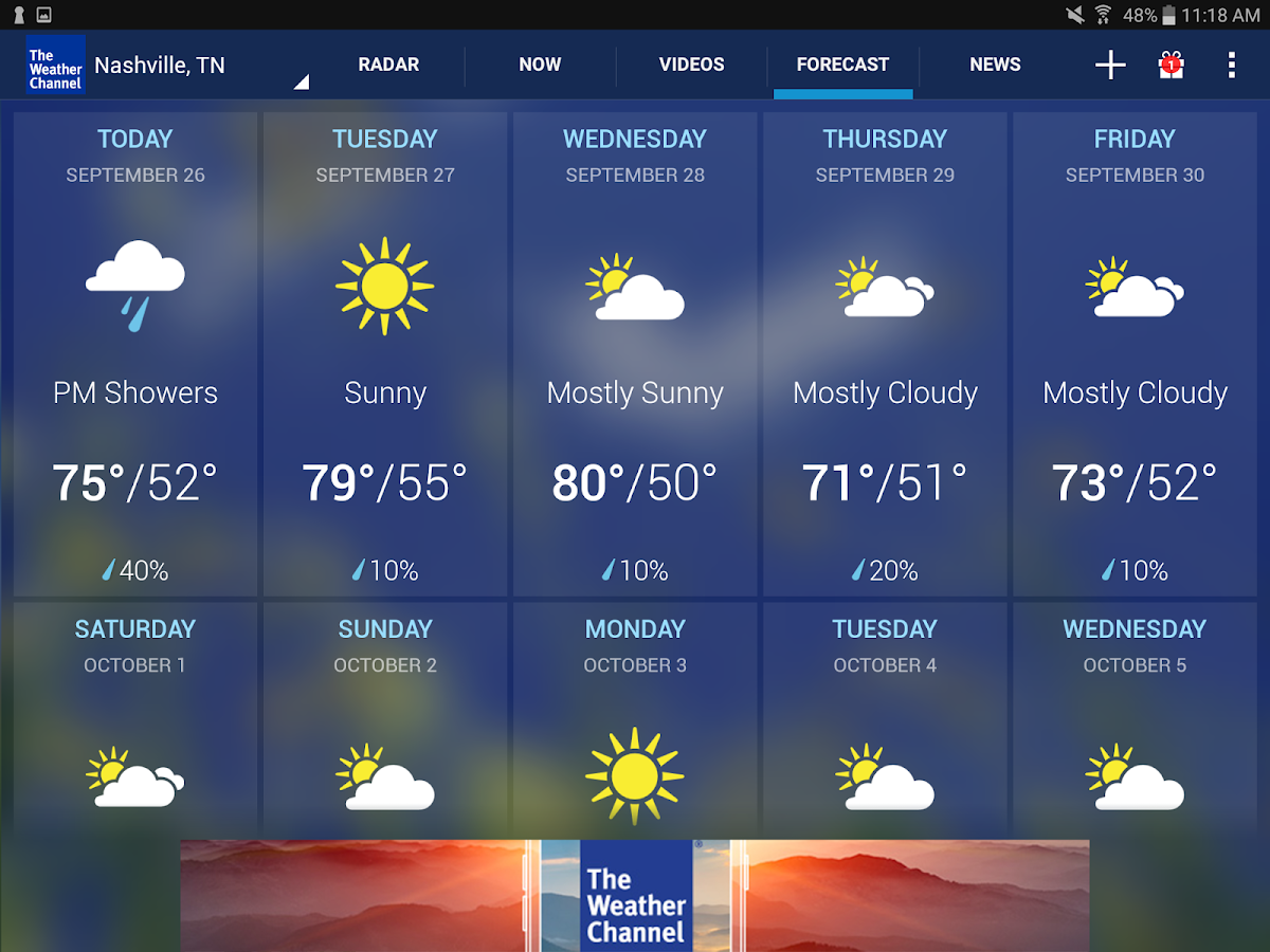 The Weather Channel Screenshot 10