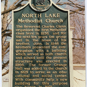 The Reverend Charles Glenn organized the first Methodist class here in 1836, and for the next ten years the group met in the home of his brother, John. In 1846 the brothers presented the congregation ...