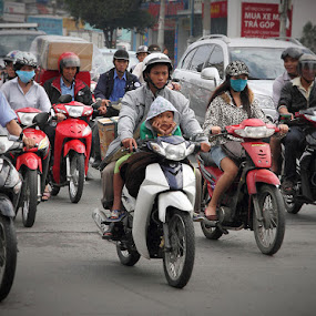 boring by Boris Jakesevic - City,  Street & Park  Street Scenes ( traffic, street, vietnam, travel, saigon, people )