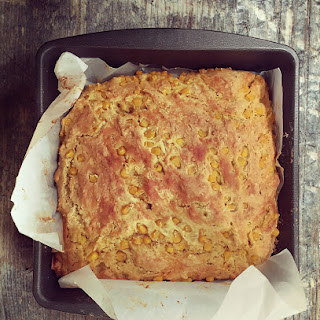 Spicy Corny Cheesy Soda Bread