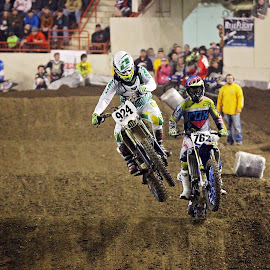 Arenacross by Tony Bendele - Sports & Fitness Motorsports ( motocross, racing, dirt track, motorama, arenacross, dirt bike )