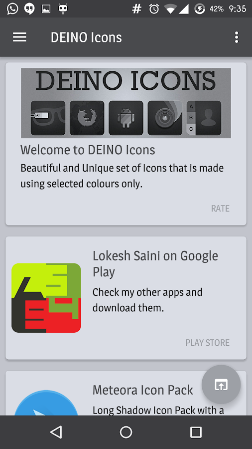 Deino Icons Screenshot 2