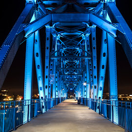 Clinton Bridge  by Patricia Konyha - Buildings & Architecture Bridges & Suspended Structures