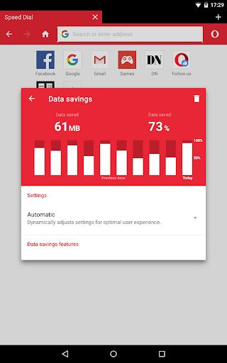 Opera Mini - fast web browser screenshot 9