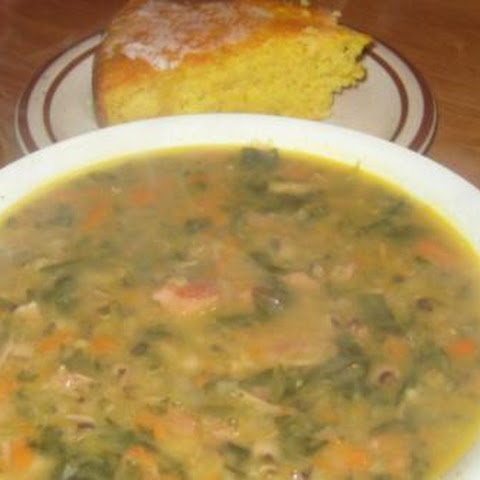 Blackeye Pea and Ham Soup