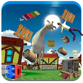 Crazy Goat In Town APK for Bluestacks