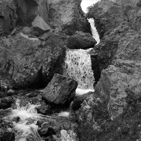 B&W Water by Max Marolt - Landscapes Waterscapes