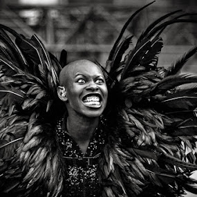 Skunk Anansie by Stéphane zOz - People Musicians & Entertainers ( music, concert, zoz, bw, rock, skunk, anansie, portrait, live )