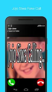 Jojo Siwa Fake Call vid