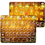 Star Golden Emoji Keyboard 1.5 Apk