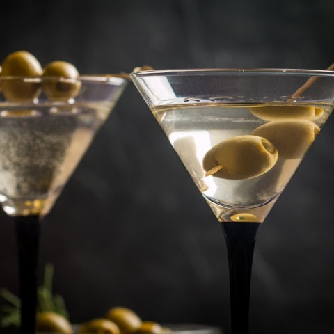 Sara's Dirty Martini