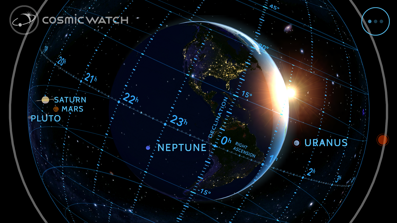Cosmic-Watch Screenshot 6