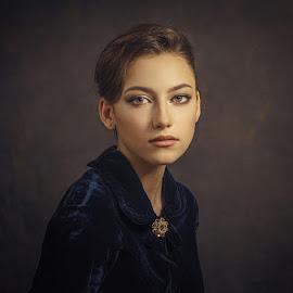 *** by Дмитрий Баев - People Portraits of Women ( studio, girl, portrait beautiful woman, portrait, eyes )