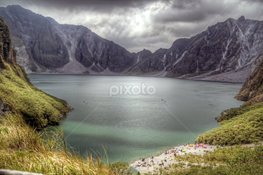 Mount Pinatubo by Nät Castaritas - Landscapes Mountains & Hills