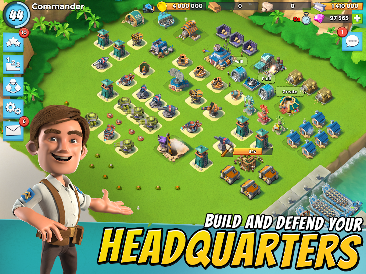 Boom Beach Screenshot 5