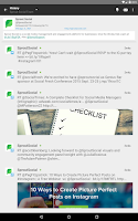 Screenshot of Sprout Social