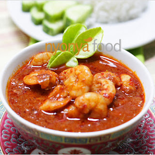 Sambal Udang Recipe (Prawn Sambal Recipe)
