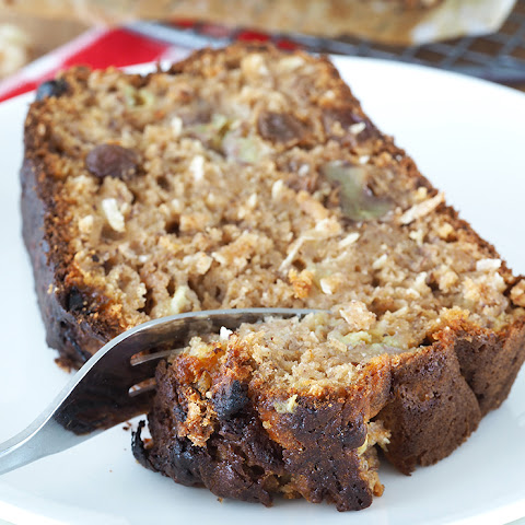 Banana Bread with Rum Soaked Raisins