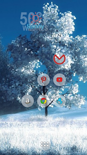 Cold winter theme - screenshot