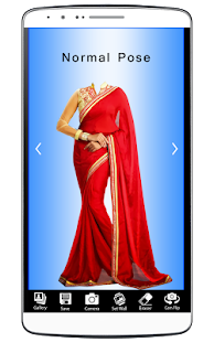 Women Fancy Saree Photo Shoot - screenshot