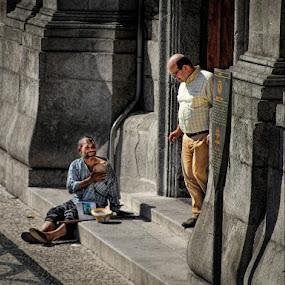 by Stephen Hooton - City,  Street & Park  Street Scenes