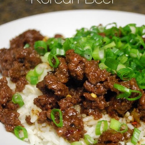 Korean Beef with Brown Rice